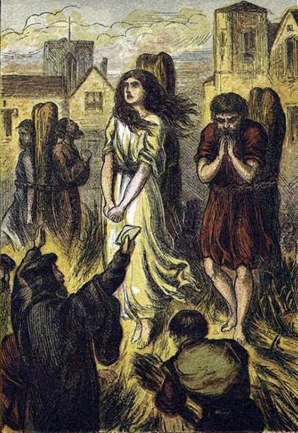 Anne Askew martyrdom