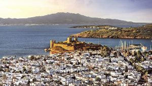 overview of Bodrum city
