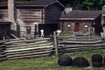 Fort Boonesborough exterior
