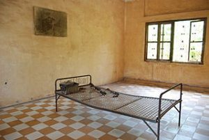 torture room in Genocide museum