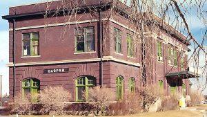 Casper Wyoming railroad station