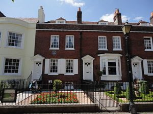 Dickens' birthplace house Portsmouth UK