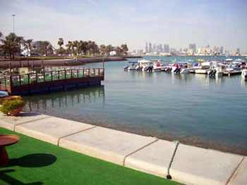 harbor at Doha, Qatar