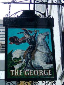 George Inn sign