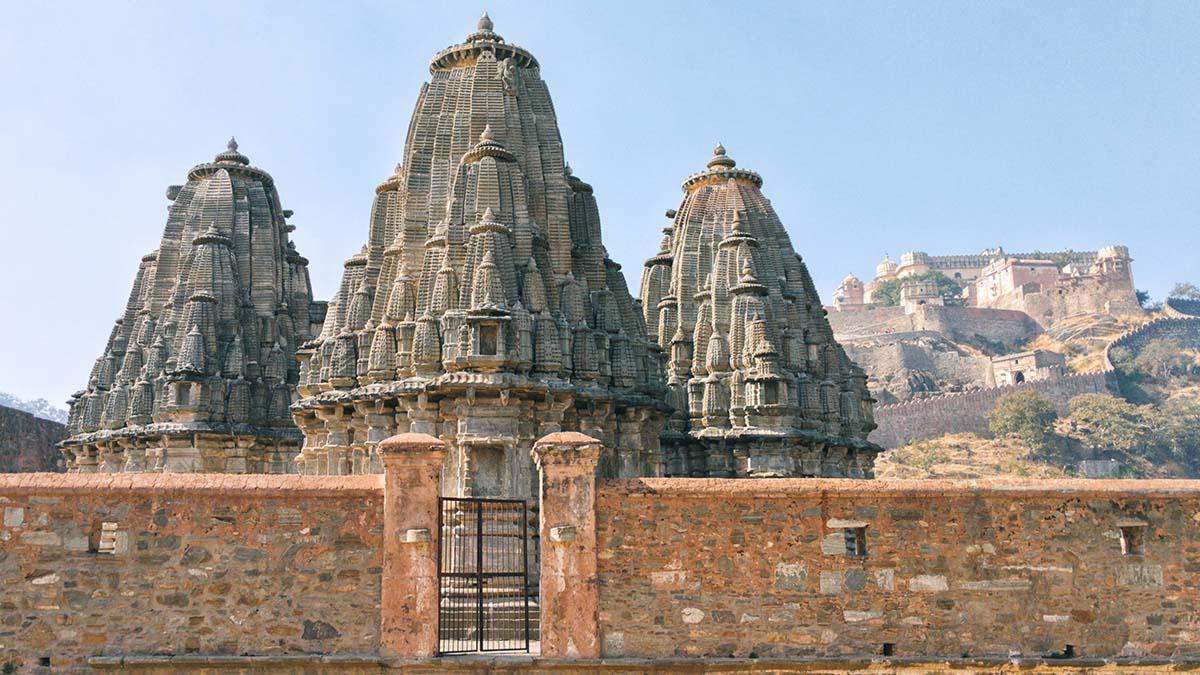 Fort Kumbhalgarh entrance gate