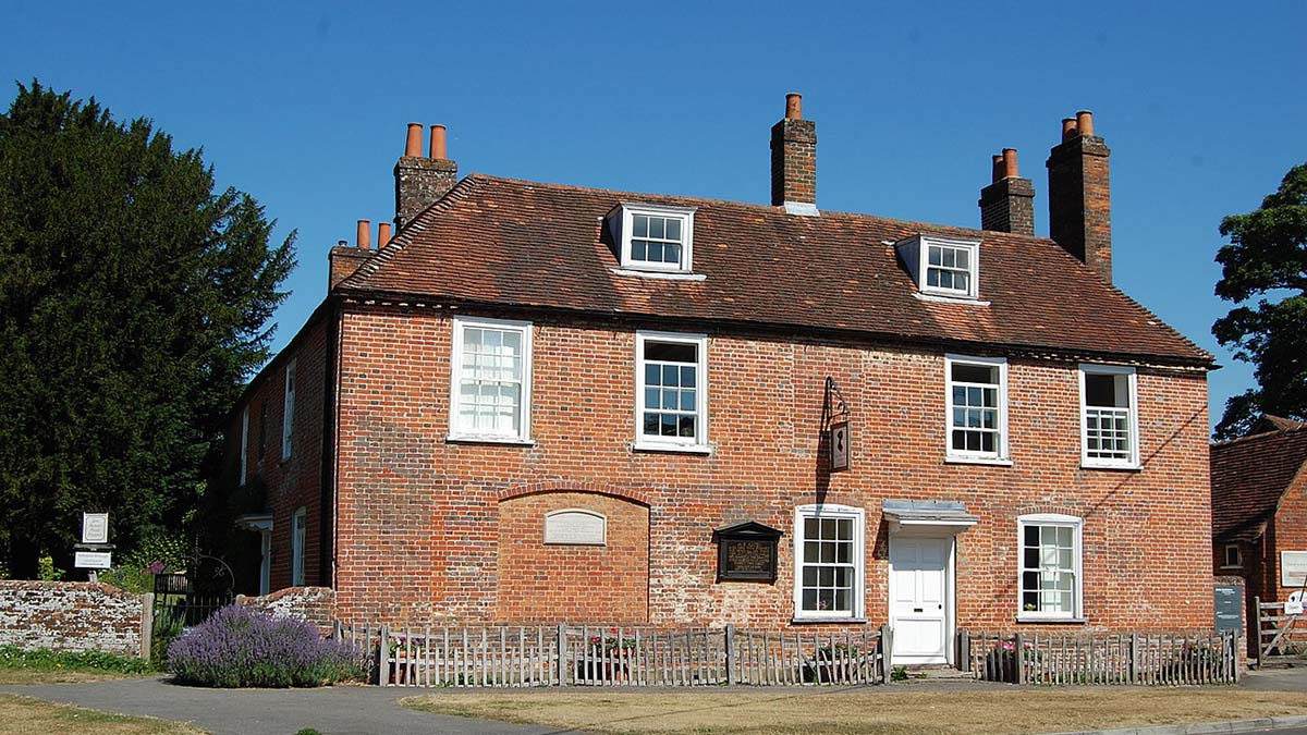 Jane Austen house and museum, Hampshire
