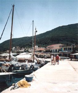Kefalonia harbor