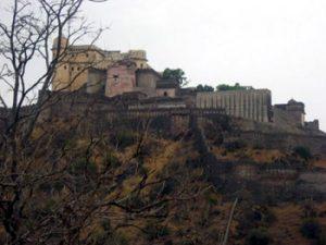 Fort Kumbhalgarh, viewed from below