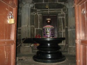 Lingam in Kumbhalgarh temple