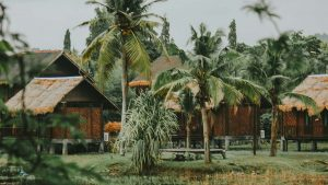 traditional buildings in Langkawi Malaysia