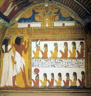 Well preserved Egyptian art