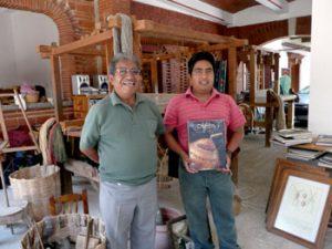 inside a Oaxaca museum