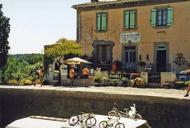 bicycles at canal du midi