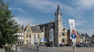 Poperinge, Belgium, town hall