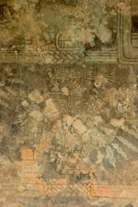 mural on interior wall