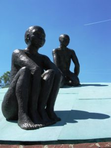 sculpture in Westerpark, Amsterdam