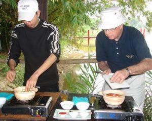 cooking Vietnamese food