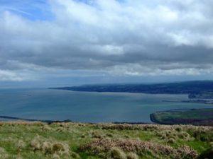 looking down toward Belfast Lough