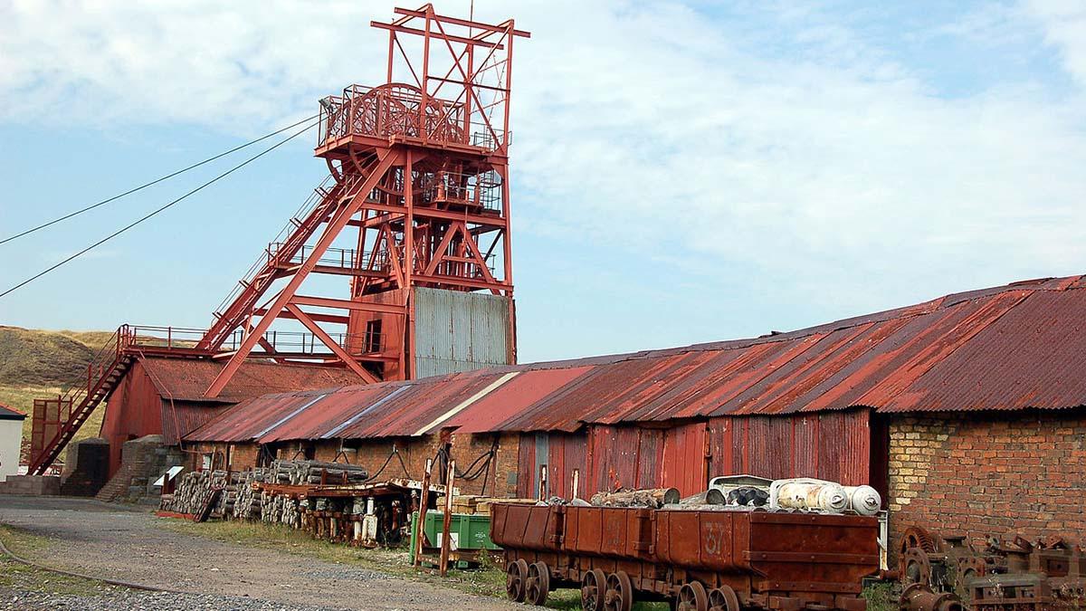 Big Pit Coal Mine Blaenavonit Wales