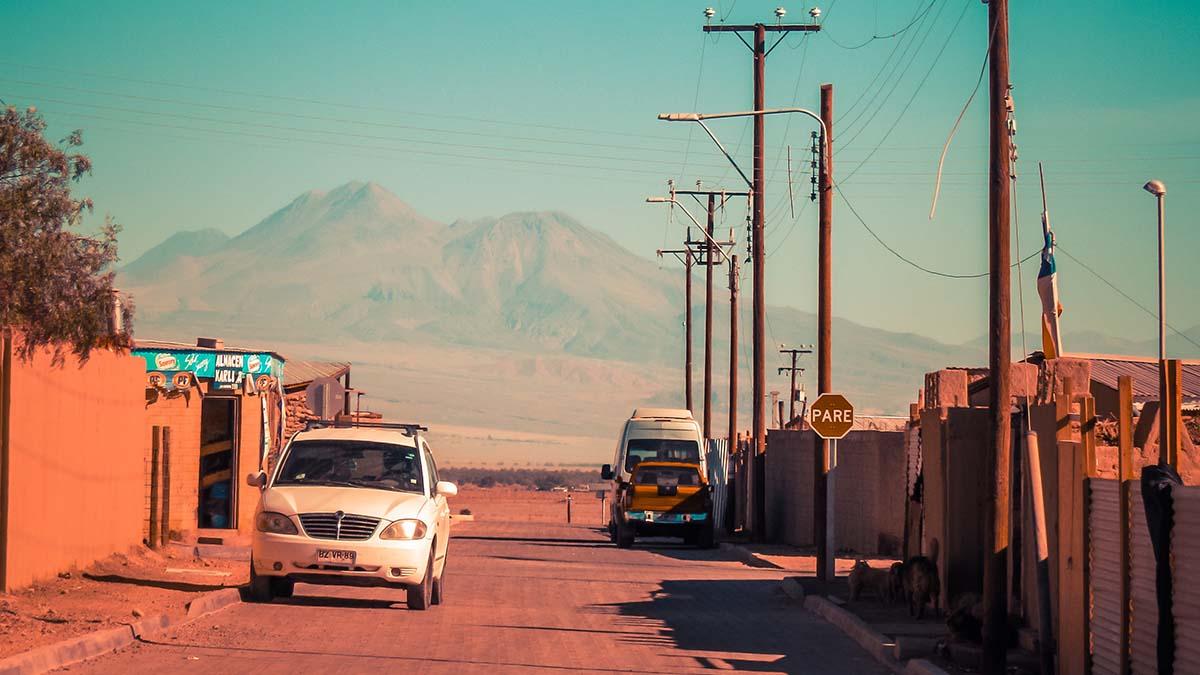 San Pedro de Atacama, Chile street