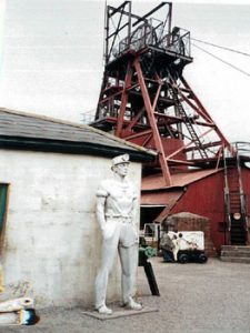 Coal mine in Caerphilly, Wales