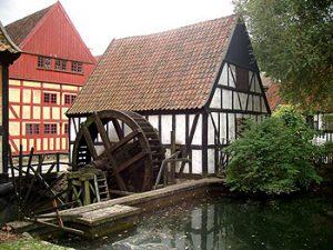 old mill in Aarhus, Denmark