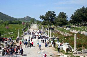 Ephesus upper agora