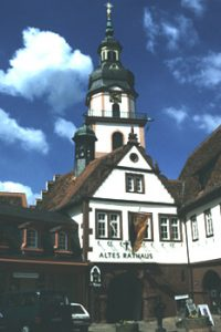 Old town hall, Erbach, Germany