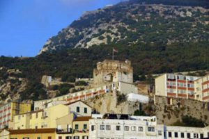 Moorish castle on Gibraltar