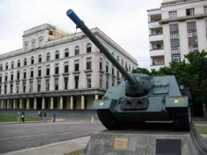 tank from Bay of Pigs battle