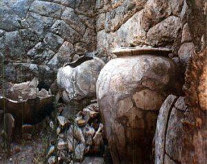 inside the Necromanteion crypt