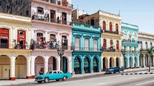 vintage cars on Havana street