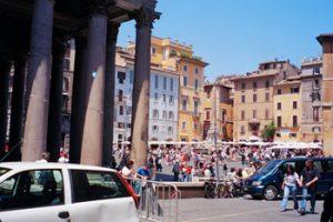 Italy travel scene
