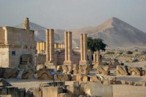 remains of Caliph Hisham's Palace