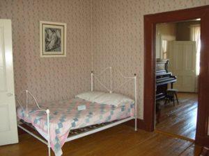 Bedroom in Joplin house