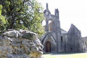 Kirkstall abbey entrance