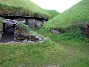 entrance to Knowth passage tomb