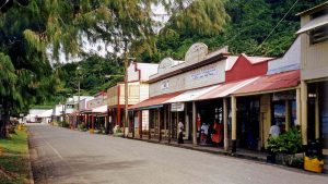 Beach Street, Levuka, Fiji