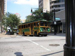 Louisville TARC trolley