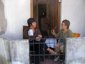 drinking mate in Uruguay