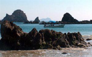 boat in San Patricio Melaque bay