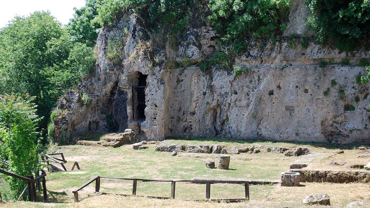 Nympheum at Mieza