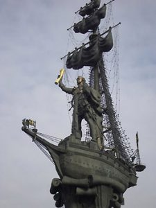 Peter the Great sculpture by Tsereteli