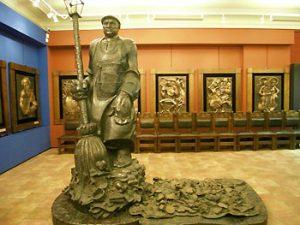 inside Tsereteli museum