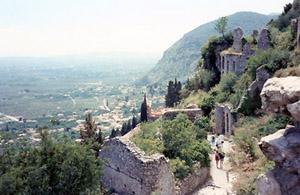 Mystra, Greece