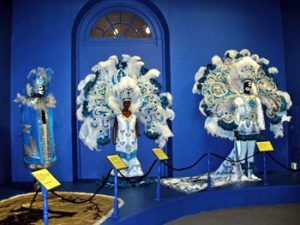 exhibit in New Orleans museum