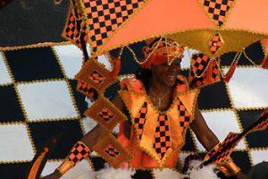 woman wearing calypso wardrobe