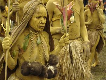 natives in Papua New Guinea