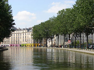 St. Martin residential area, Paris