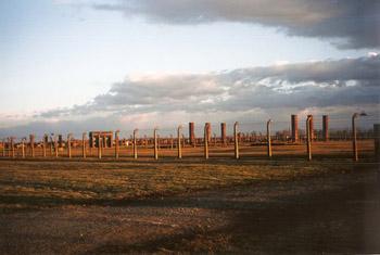 fence around Auschwitz
